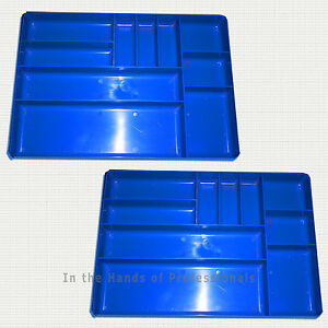 Ernst Mfg 2 5012 Bl The Tray Blue Classic Tool Organizers Yes 2 Trays