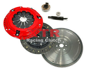 Xtr Stage 1 Clutch Kit Hd Flywheel For 1992 2005 Honda Civic Del Sol D15 D16 D17