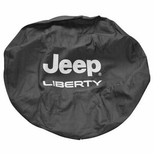 Oem Liberty Logo Spare Tire Cover For 02 07 Jeep Liberty Mopar 82207586ac New