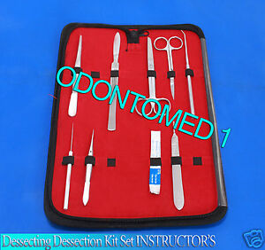 Dissecting Kit Set Instructor s Biology Student Lab Teacher s Choice odm 591
