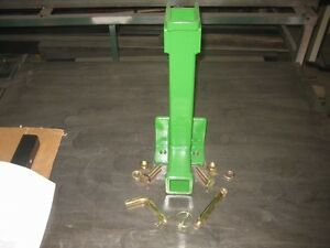 Omni 3 Pt Point Tractor Heavy Duty Combo Drawbar Trailer Hitch John Deere Green