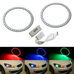 Rgb 7 color Led Angel Eye Halo Ring For Hyundai Genesis Coupe Headlight Retrofit