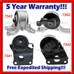 K071 Fits 02 06 Nissan Altima 2 5l Engine Motor Trans Mount Set For Auto Trans