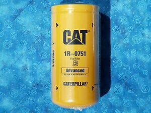 1 New Cat 1r 0751 Fuel Filter Sealed Made In Usa Caterpillar 1r0751 Oem