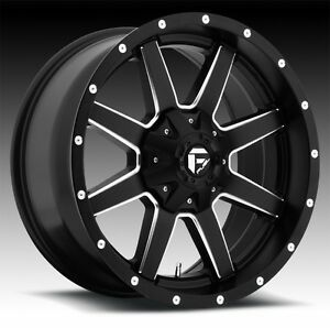 Cpp Fuel D538 Maverick Wheels 18x9 Fits Jeep Wrangler Grand Cherokee L