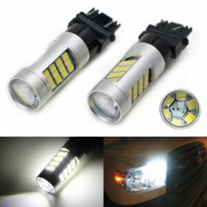 6000k White 42 Smd Led Bulbs For Chevy Gmc Dodge Ford Daytime Running Drl Lights