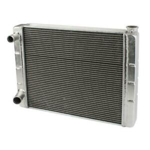 Speedway 31 Double Pass Aluminum Radiator Ford Mopar Style Left Inlet Outlet