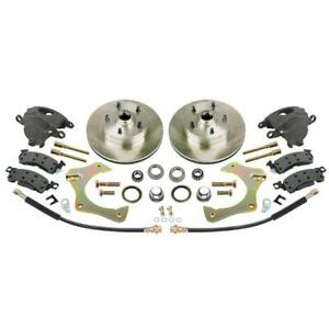 Speedway Motors Mustang Ii Complete 11 Front Disc Brake Kit 5 X 4 3 4 Gm Bp