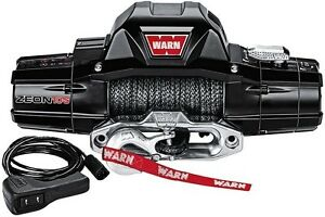 Warn 10 000 Lb Jeep Truck Suv Premium Series Zeon 10 s Winch 12v Synthetic