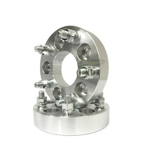2 Chevy Wheel Spacers 5x4 75 1 5 Inch Thick Camaro Corvette S 10 38mm