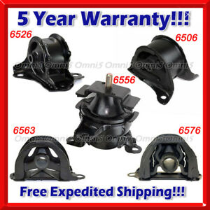 K159 Fits 1998 01 Honda Crv 2 0l Engine Motor Trans Mount Set 5pcs For Manual