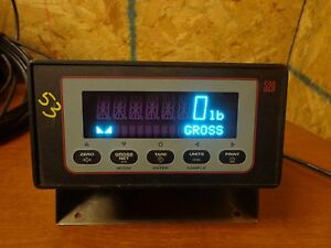 Rice Lake Weighing Systems 520 1a Display Panel Mount Scale 79734