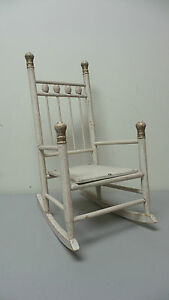 Antique Hand Made Primitive 16 High Doll S Rocking Chair