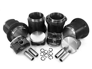 Vw 92mm Type 1 Stroker Piston Cylinder Kit Thick Wall