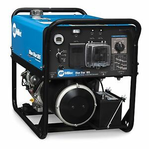 Miller Blue Star 185 Dx Welder generator With Gfci Receptacles 907664