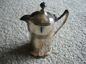 Interesting Vintage Silverplate Creamer Or Syrup Reed Barton 1928