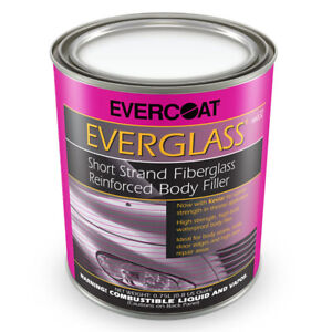 Evercoat Everglass Short Strand Fiberglass Reinforced Auto Body Filler Fib 632