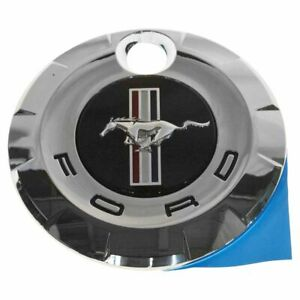 Oem Fuel Door Gas Cap Style Emblem Rear Trunk Deck Lid Chrome For Ford Mustang