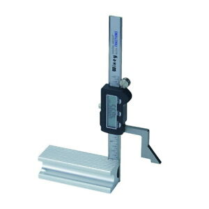 Height Gage 100mm 4 Digital Metric Inch Fraction Display Magnetic Base Wixey