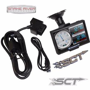 Sct Livewire Ts Plus Custom Tuner Programmer Ford Super Duty Gas Diesel 5015p