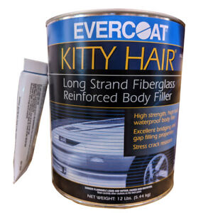 12 Lb Evercoat Kitty Hair Long Strand Fiberglass Reinforced Auto Body Filler 869