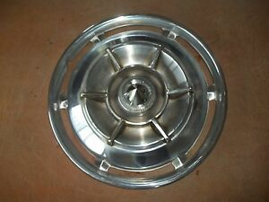 1961 61 Buick Hubcap Rim Wheel Cover Hub Cap 15 Spinner Oem Used A 6