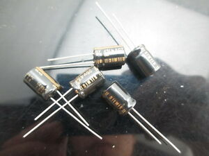 Japan 5pcs Elna Rfs Silmic Ii 47uf 25v Highest Audio Capacitor New Diy Hifi