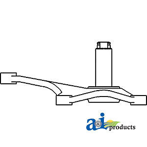 Compatible With John Deere Bellcrank Ar92945 2640 sn 308804 W 60 88 Or 58