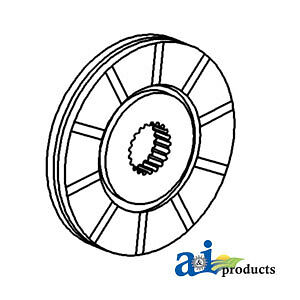 John Deere Parts Brake Disc At12312 2010 rc Rc Util