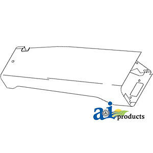 Compatible With John Deere Fender R h Re11219 4960 4955 4850 4840 4760 4755 465