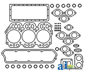 John Deere Parts Gasket Set Upper Re38848 380 350b 350a 301a sn 154766