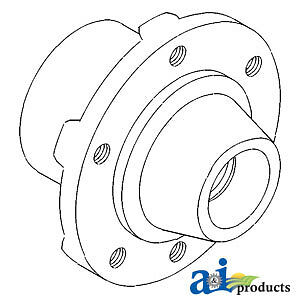 Compatible With John Deere Hub Front Wheel T21543 2030 used W 5 50 16 6 00 1