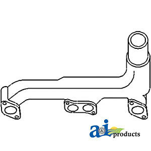 Compatible With John Deere Manifold Exhaust R27404 3020 w Gas Engine 3010 w
