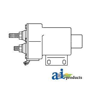John Deere Parts Solenoid Switch Ar102755 8850 8650 8640 8630 8450 7520 6030 50
