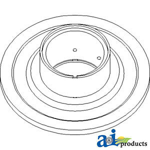 Compatible With John Deere Sheave Feeder House Ah201417 9770sts 9760sts 9670sts