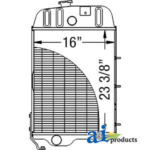 John Deere Parts Radiator At26474 3130 3030 2840 3030
