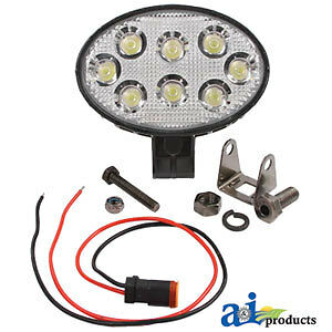 Compatible With John Deere Worklamp Led Oval Flood Re321841 8520 8430 Model Yea