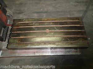 39 50 X 18 X 6 Steel Welding T slotted Table Cast Iron Layout Plate Weld