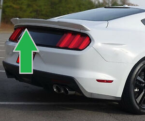 For Ford Mustang Coupe Unpainted racing Style Rear Spoiler Wing 2015 2019