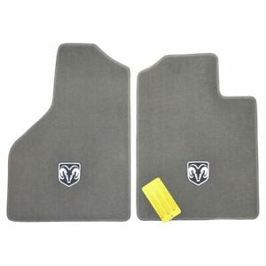 Oem Floor Mat Carpet Pair Lh Left Rh Right Front Khaki For Dodge Ram Truck New