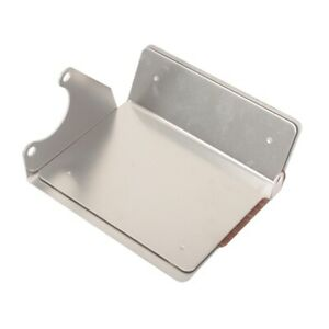Polished Aluminum Chevy Compact Mini Starter Heat Shield Cover