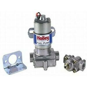 Holley 12 802 1 110 Gph Universal Blue 12v Electric Fuel Pump W Regulator