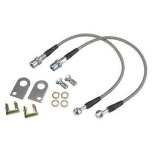 Speedway Motors Dot Braided Stainless Brake Hoses Mustang Ii 7 16 24