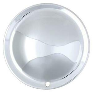 Speedway Motors Chrome Plated Full Moon Style 15 Inch Wheel Covers Set 4
