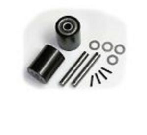 Wesco 272744 Pallet Jack Load Wheel Kit includes All Parts Shown