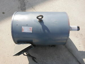 Magnetek 60 Hp 1750 Rpm 3 Ph American Electric Motor Used