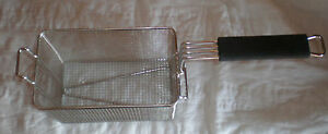 All Stainless Steel Construction Fry Basket 10x6 5x6