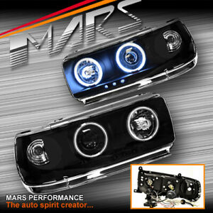 Angel Eyes Projector Head Lights For Toyota Landcruiser 80 Series Fj80 90 97