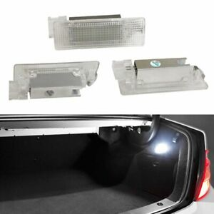 White Error Free Led Trunk Cargo Area Lamp For Vw Golf Gti Jetta Passat Cc Etc