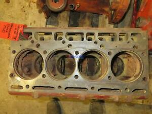 International Ih 206 Engine Block Used Ihc584 T2d318096 4 Cyl Diesel